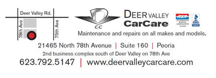 Deer Valley Care Care, mechanics in Peoria AZ